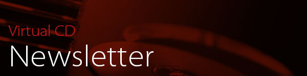 Die Virtual CD Newsletter Header-Grafik