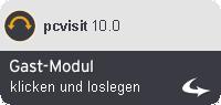 Gast-Modul pcvisit 10.0  starten