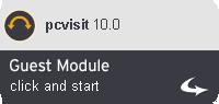 Run pcvisit 10.0 Guest Module